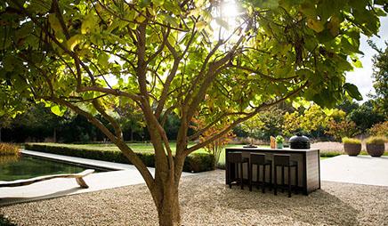 Moderne tuin ontwerp en aanleg van uw tuin groenseizoen