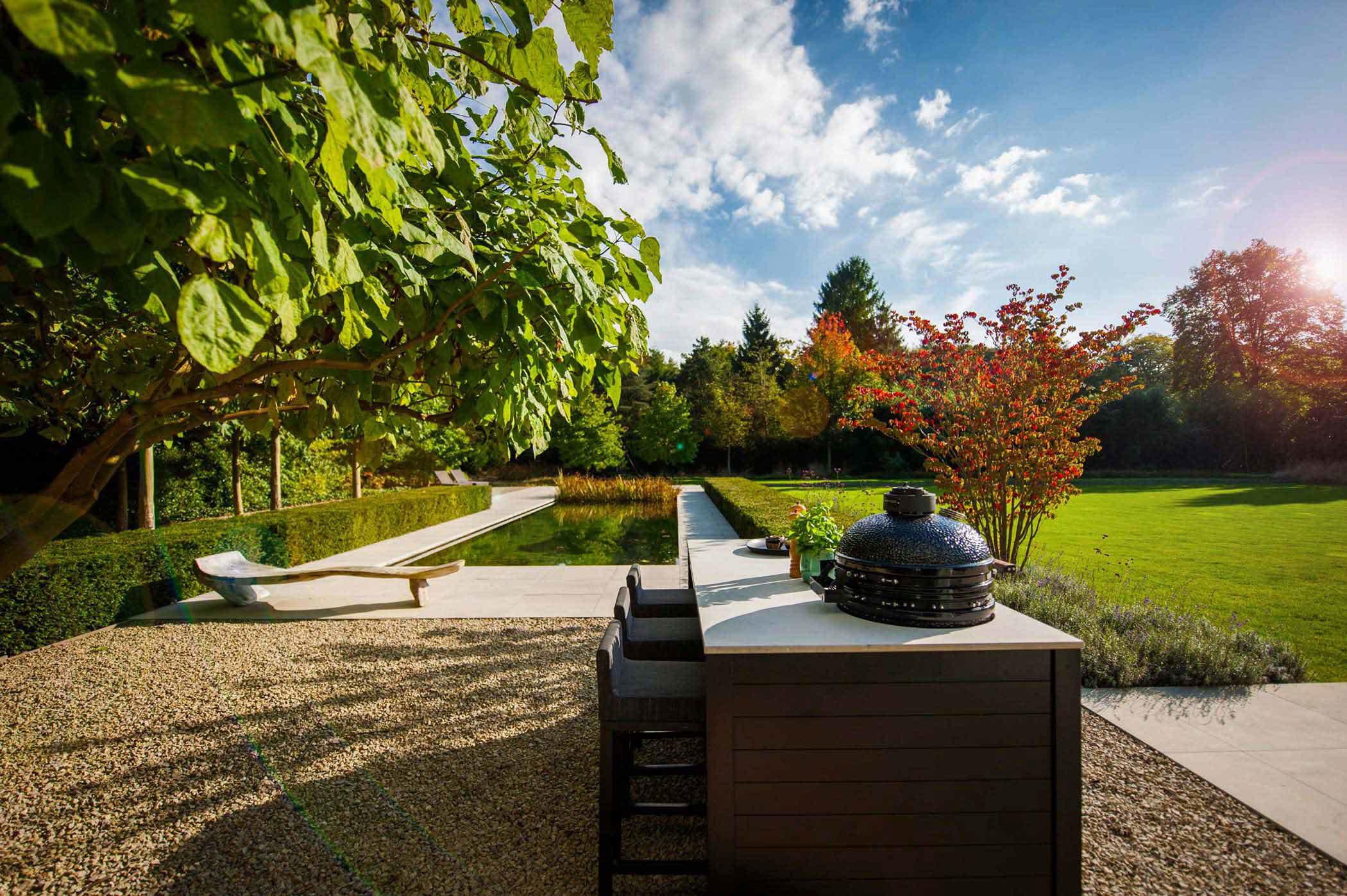 Grote Moderne Tuin : Tuinontwerp grote tuin. latest in stappen naar het ultieme